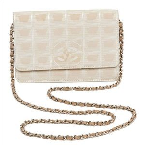 Authenticated Vintage Chanel Chain Crossbody Purse